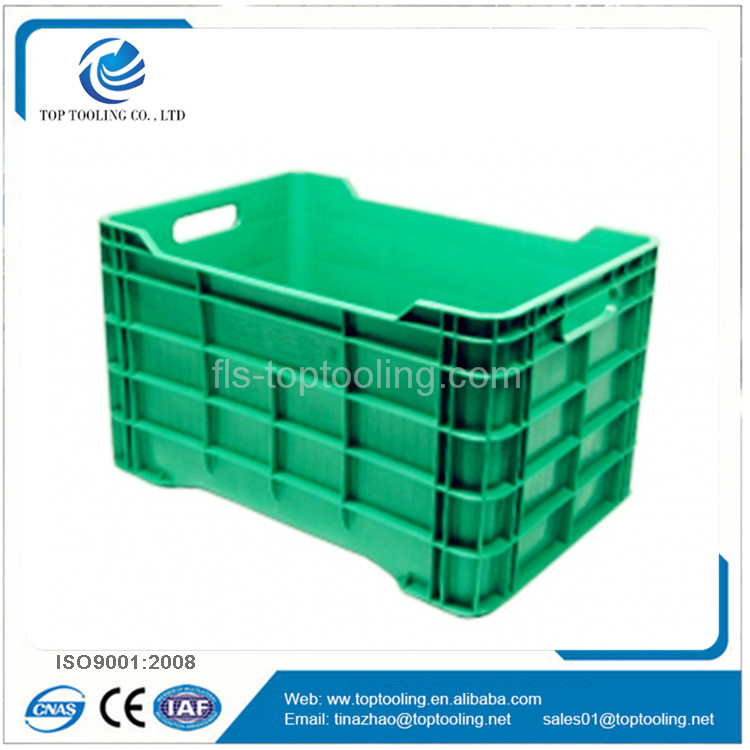 plastic crate storage cases injection molding