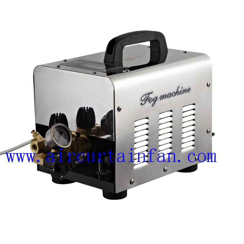 13 nozzles high pressure misting system fog machine for outdoor space with timer