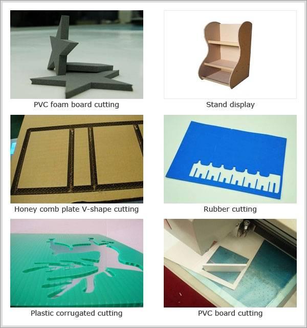 laser location prototype carton box sample cutting machine