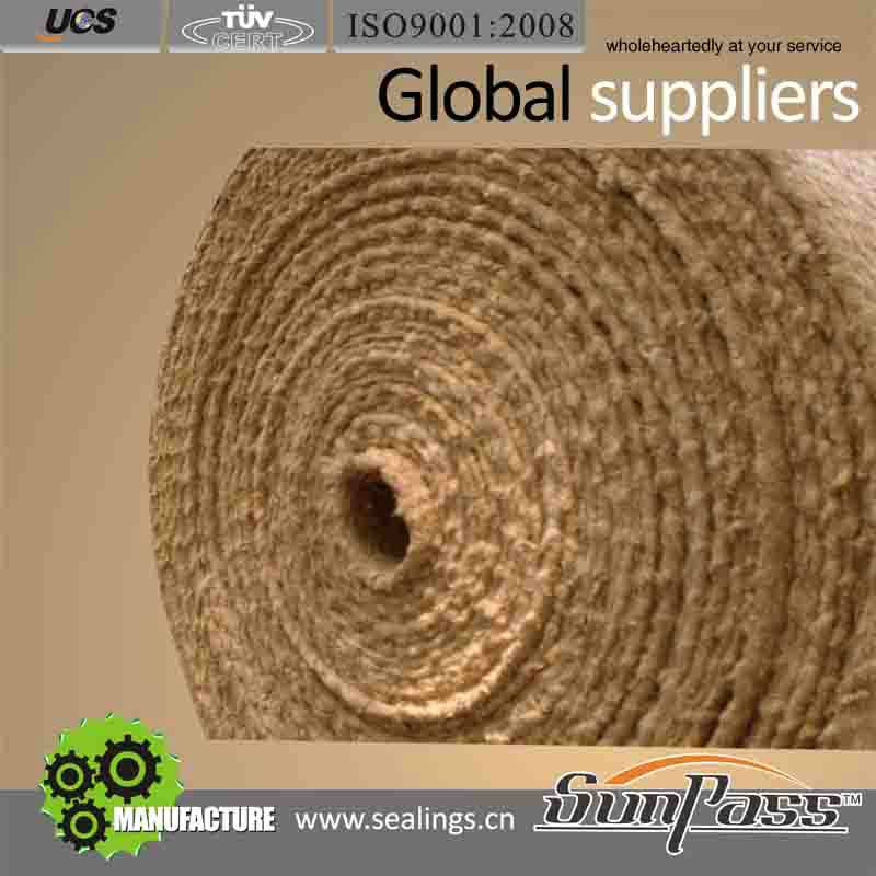 Ceramic Fiber Cloth With The Material Stainless Steel
