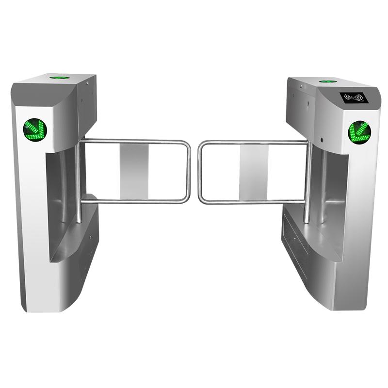Fingerprint recognition Swing Barrier Gate turnstile with sdk