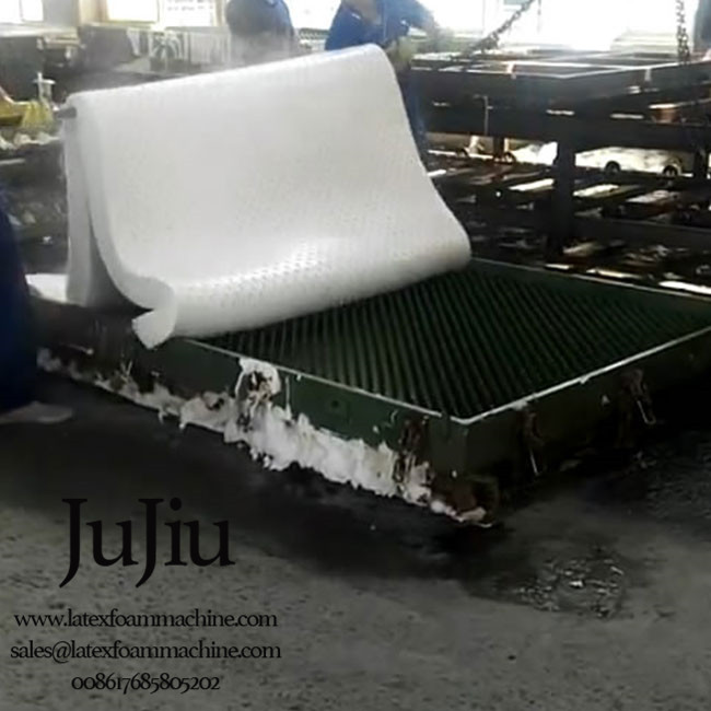 Automatic Latex Mattress Continuous Production Line