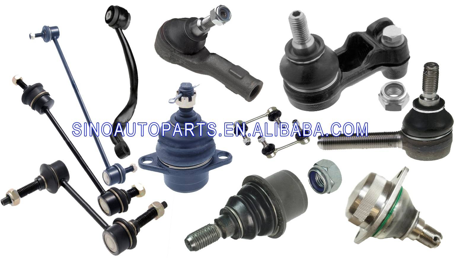 TIE ROD END BALL JOINT QJB 500070 QJB 500040 QFK 500030 QFW 500020 RBK 500300 RBX 500432 FOR LAND RO