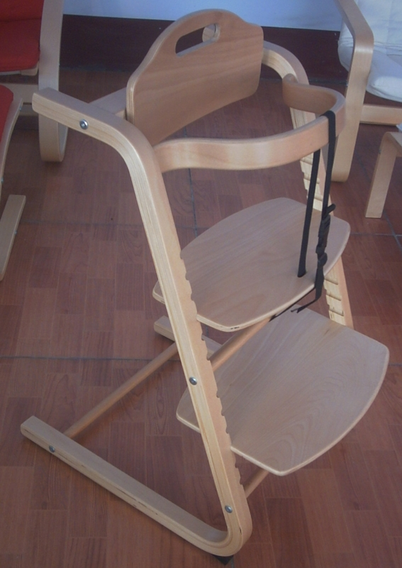 Beech Plywood Child Chair