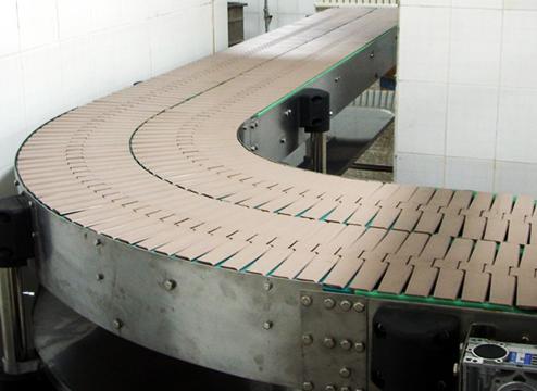 PL plast link slat top conveyor