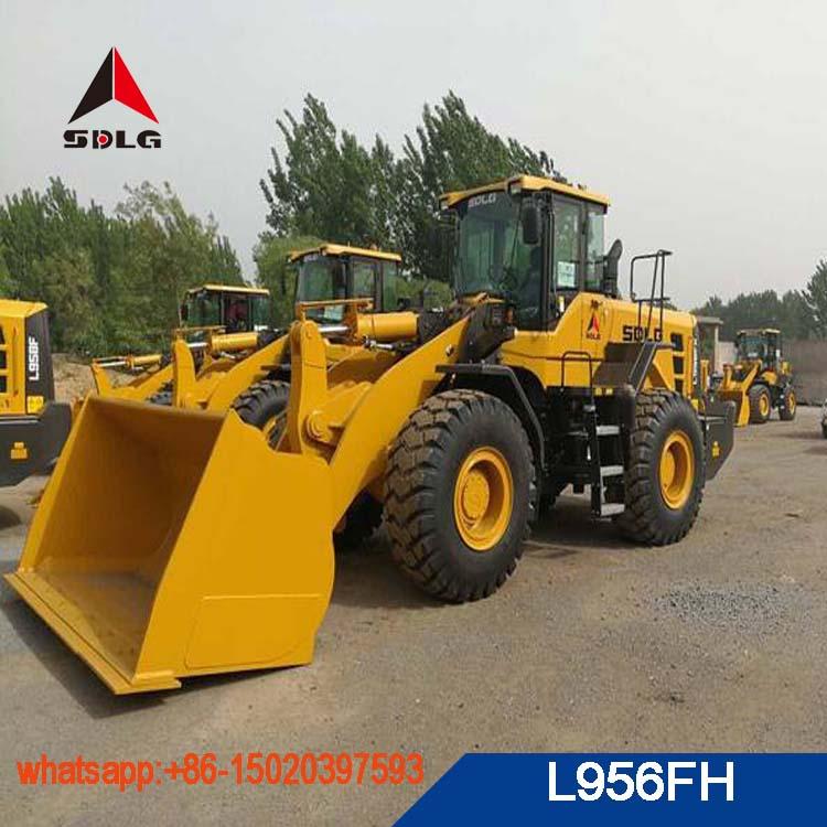 SDLG 5T wheel loader new model L956FH for sale