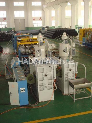 Corrugated Pipe Line_HDPE/PP Double Wall Corrugated Pipe Machinery Production Line