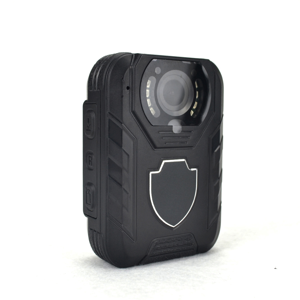 Wearable Waterproof Body Worn Video Camera, Law Enforcement Camera, 3400mAh Battery Capacity