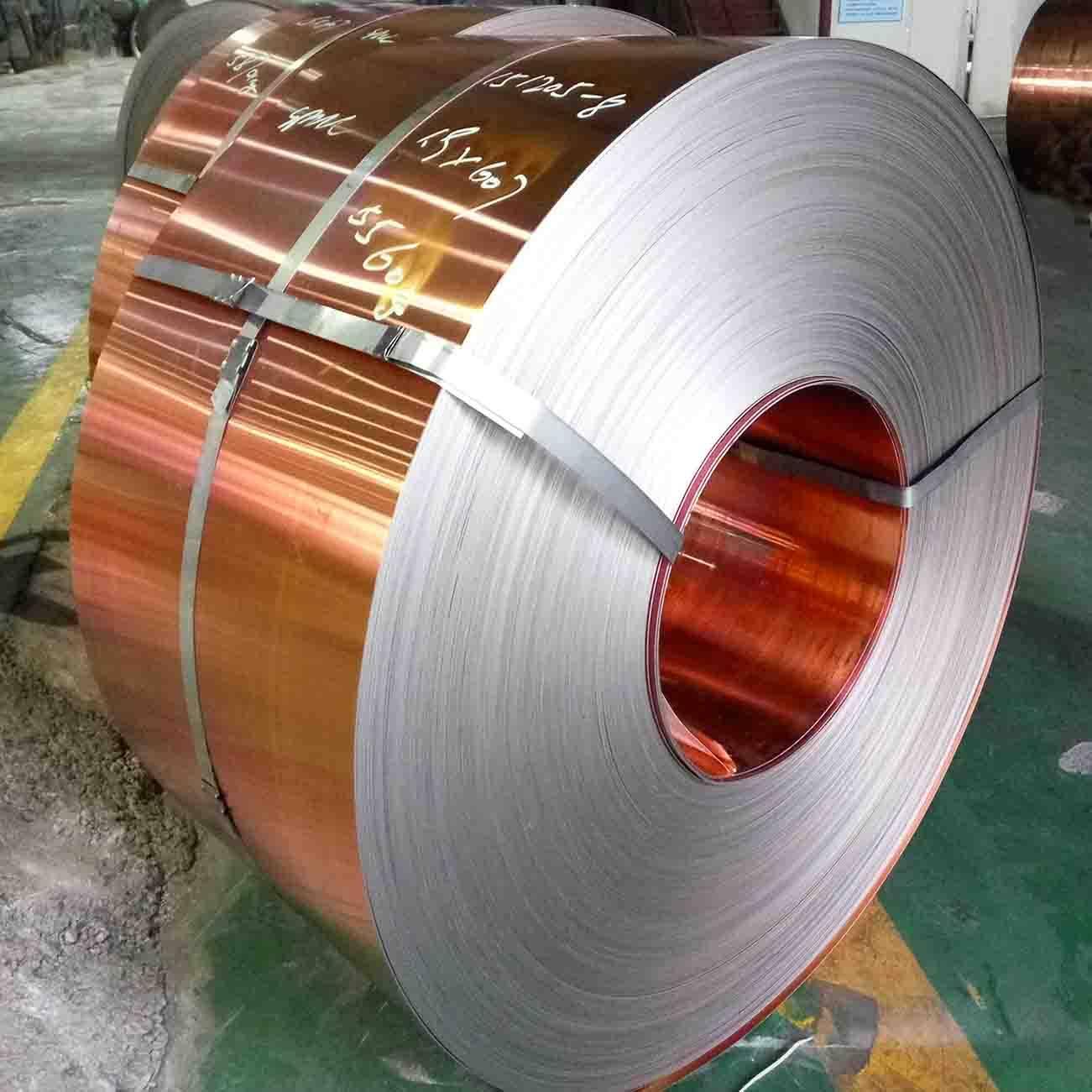 H90 Copper Clad Steel Strip for Bullet Casing