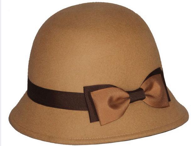 2017 costome wool felt quality bowler hat