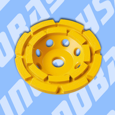 Diamond cup wheels for material removal