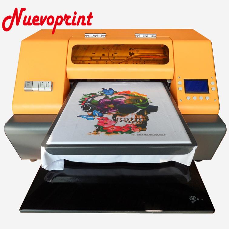 2018 Best dtg garment printing printer t shirt printing machine for sale NVP1390