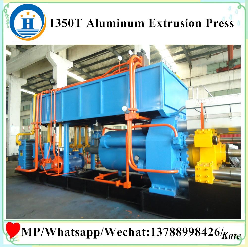 equipment for extrusion of aluminum profiles