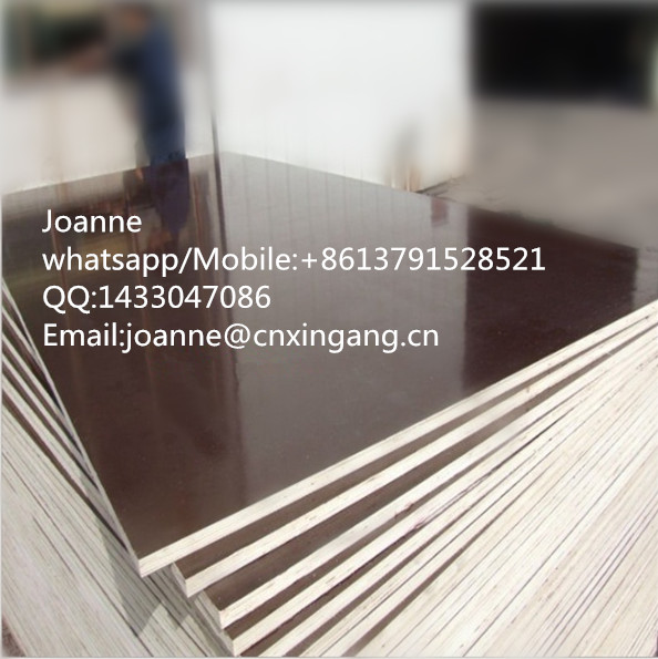 18mm Beech High Gloss Durable Film Faced Packing Plywood