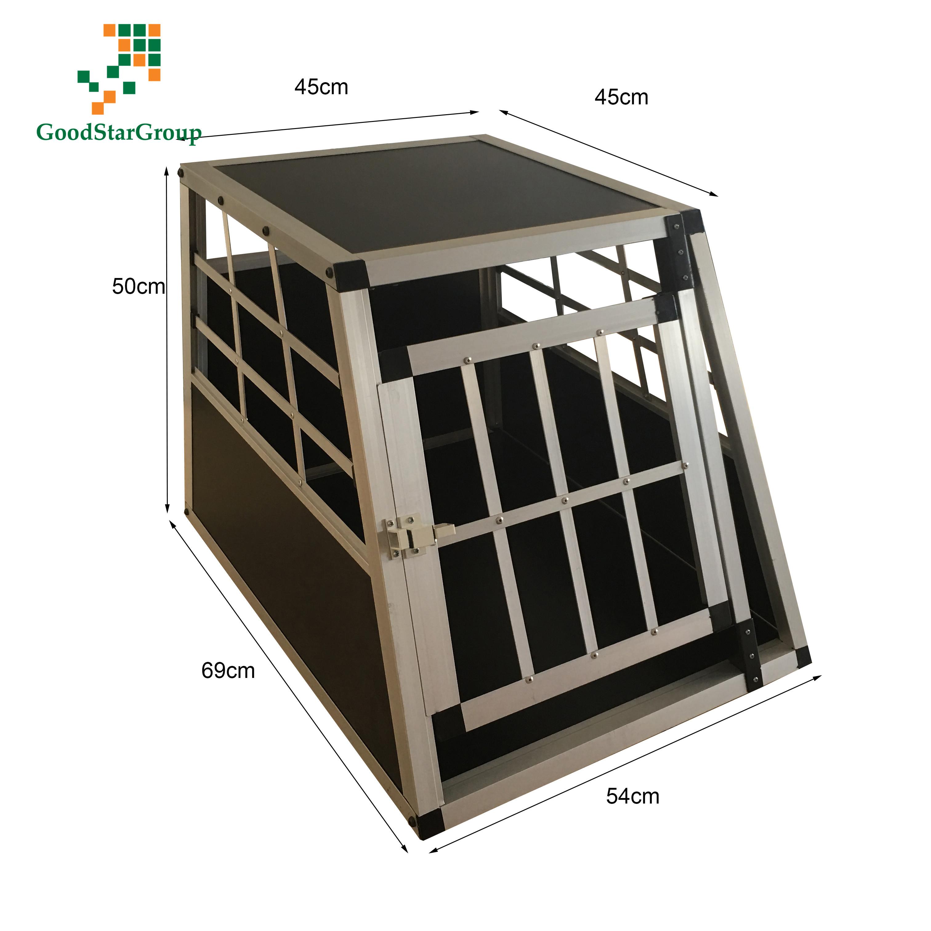Jaulas De Transporte para Perros De Aluminio con Tabique Hermetico Extraible
