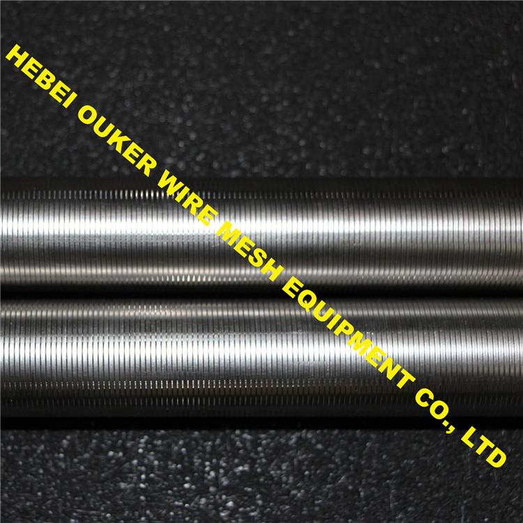Stainless steel long floor drain wedge wire screen welding machine