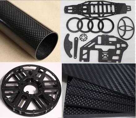 twill weave carbon fiber sheet/plate/panel