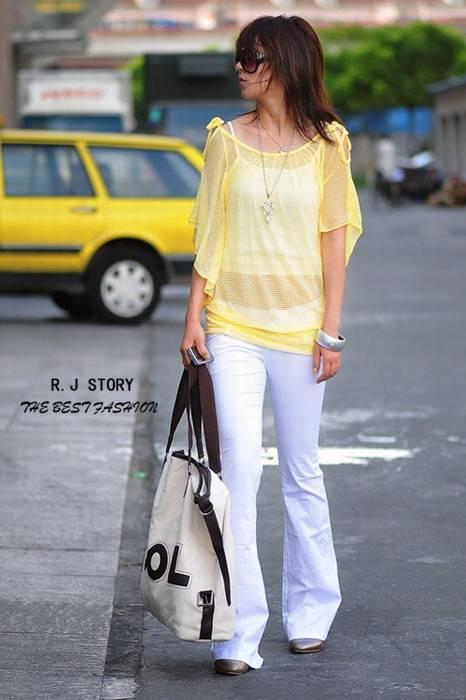 Fashionale Simple Leisure Cotton Trousers