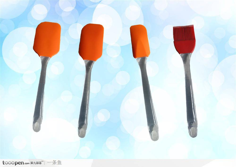 FDA / LFGB heat resistant silicone spatula set / silicone knife kitchen tool supplier
