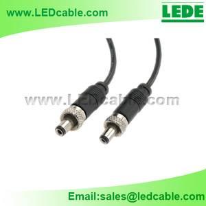 DC Power Cord with Locking plug