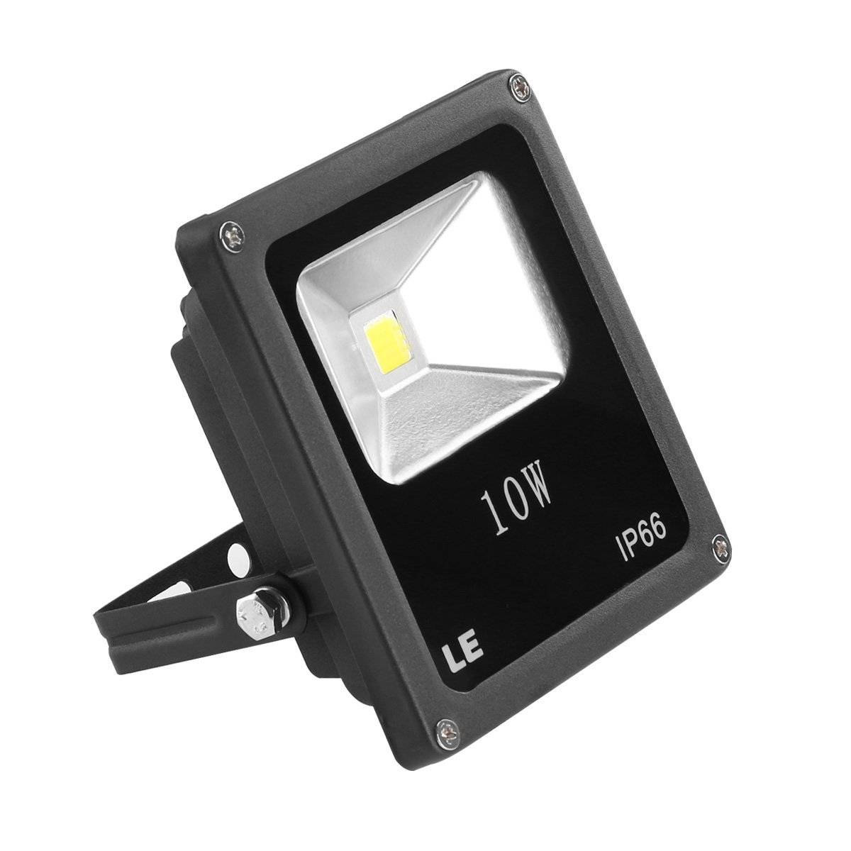 10W Super Bright Outdoor LED Flood Lights, 100W Halogen Bulb Equivalent