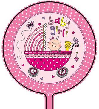 girl theme foil balloon