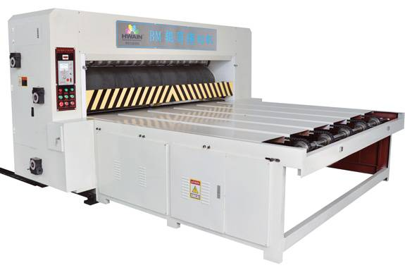 Rotary die cutting machine for corrugated box