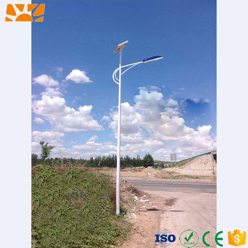 IP65 Energy-saving Pure White Integrated LED Solar Street Garden Light