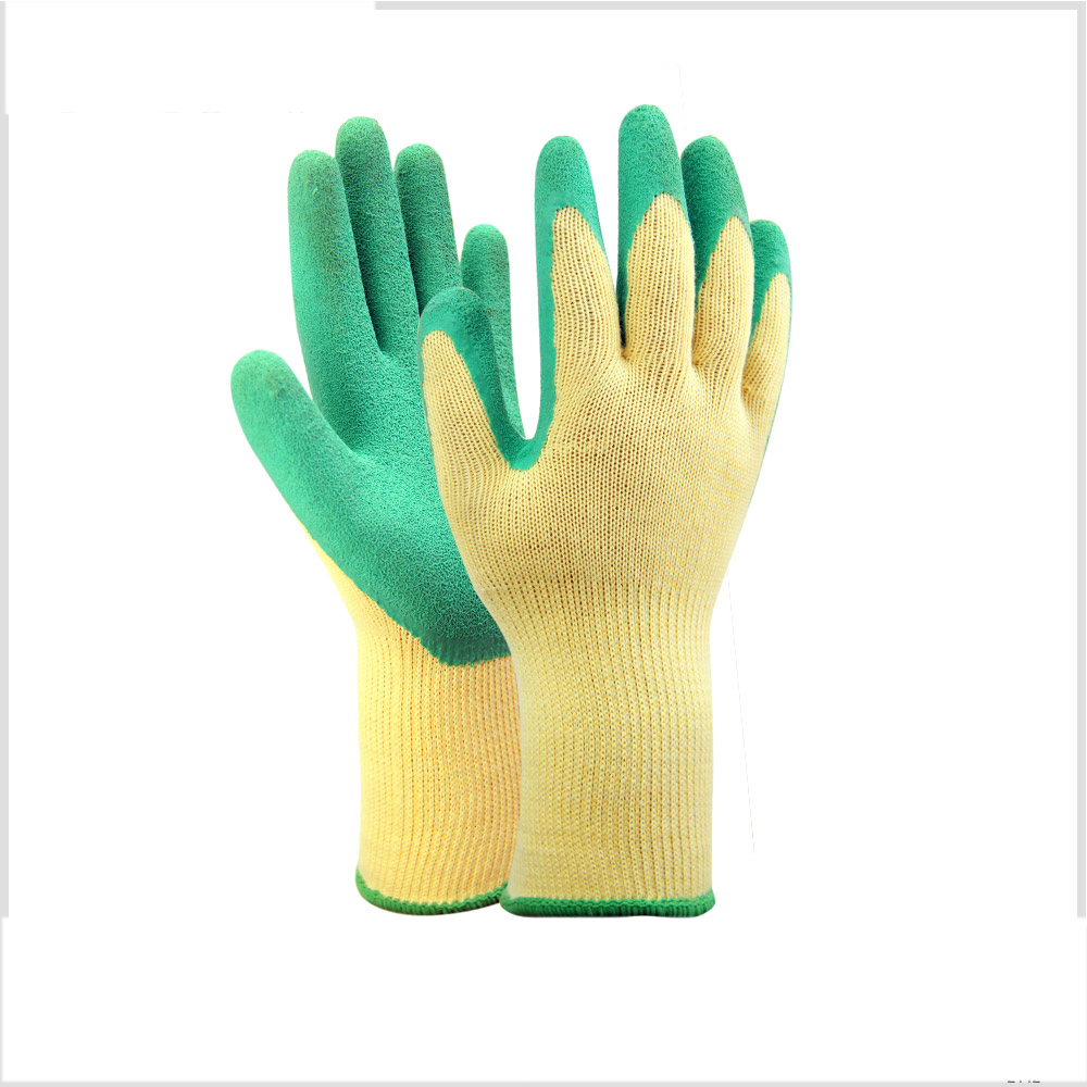 Latex coated better grip working gloves