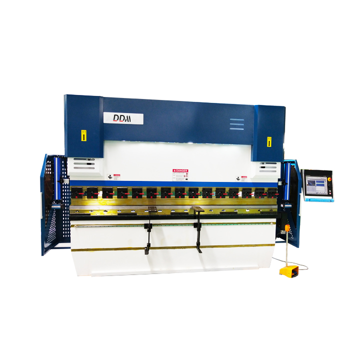 WE67K Series Full Automatic Cnc Press Brake with DA66T 3D Programming CNC Controller System