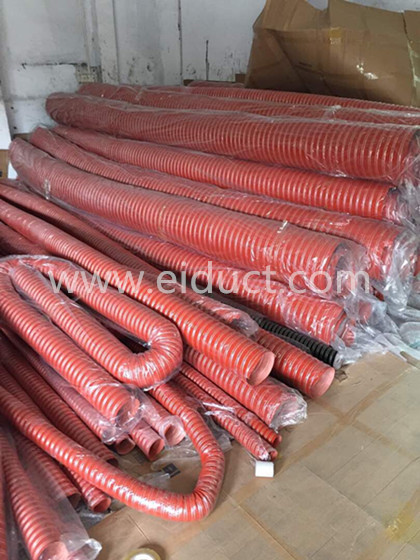 32mm Red High Temperature Silicone Duct Air Handing Duct Hose