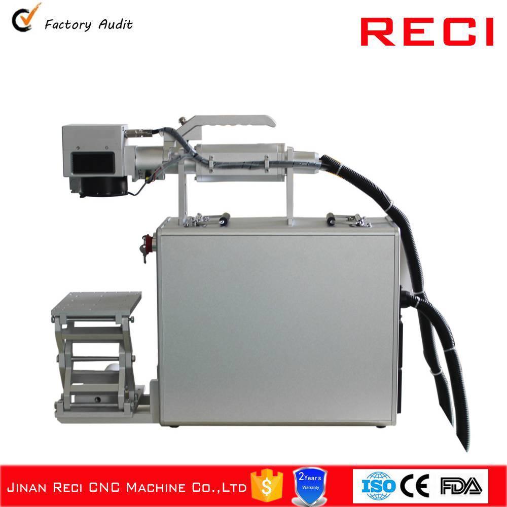 jinan reci handhald fiber laser marking machine
