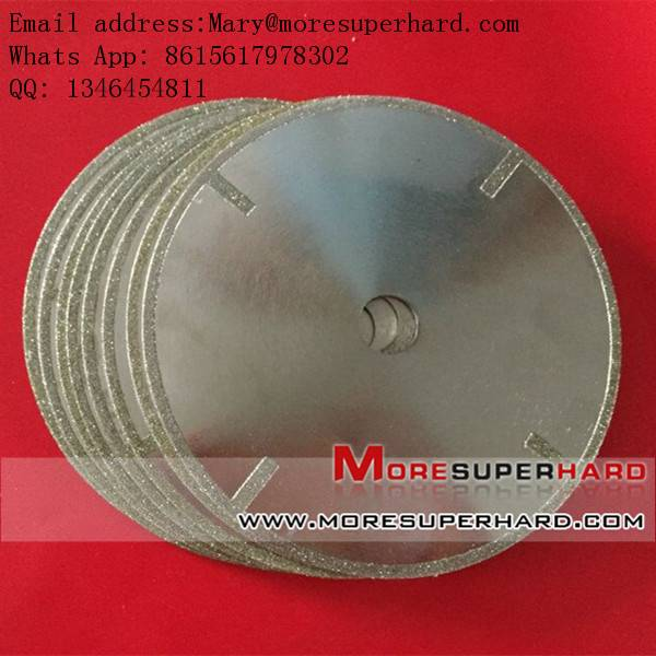 electroplated diamond saw blade, dicing balde for stone, marble, granite cutting,brake pad processin