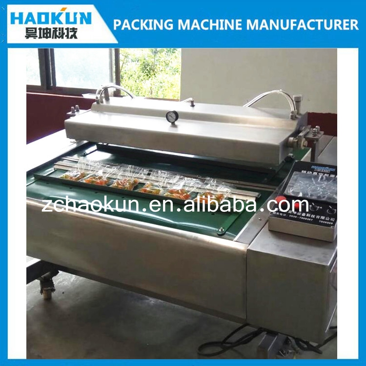 factory price high efficiency continuous food rolling vacuum packing machinery for sale