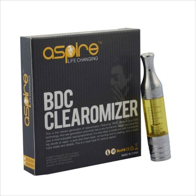 2.5ml Electronic Cigarette Aspire BDC Atomizer
