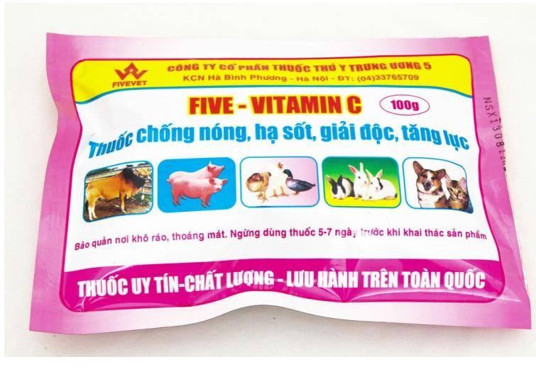 Five-Vitamin C