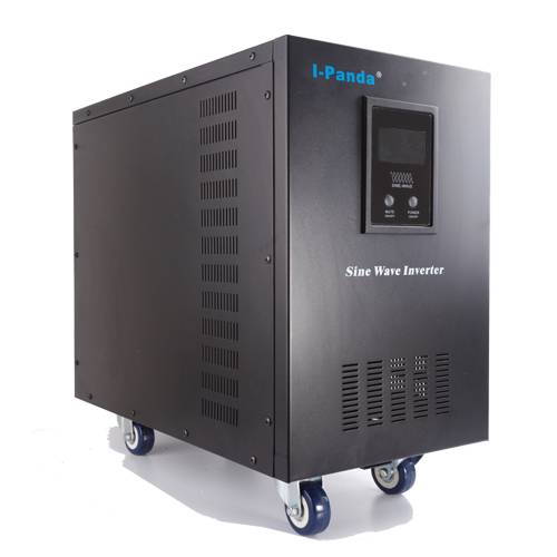 DC to AC pure sine wave inverter with LCD display I-P-XD-15000VA