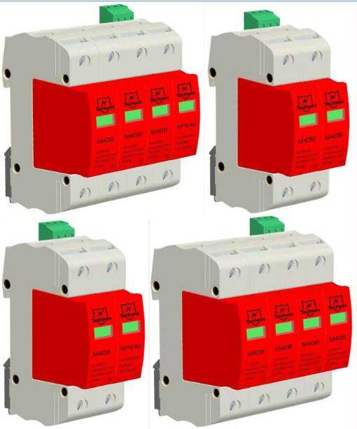 AC Module Class C Power SPD Surge Arrester