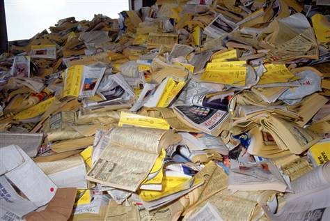 OCC, ONP, OINP,WASTE YELLOW PAGES TELEPHONE DIRECTORIES