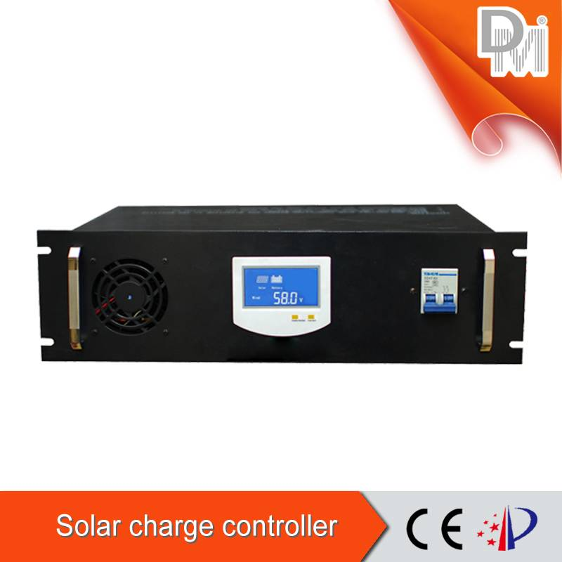384v/380v solar charge controller with big LCD/RS485