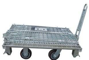 WITH WHEEL  metal WAREHOUSE CAGE WAREHOUE BOX  (FOR MARKET OR WAREHOUSE) manufacturer direct sale