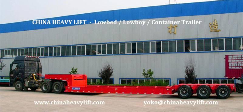 CHINA HEAVY LIFT - Mine Site transporters