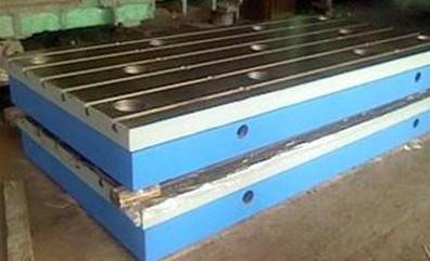 Best Choice Good Grinding Resistance cast iron T slot Surface table