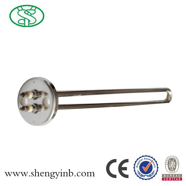 220V round brass flange heating element for water boiler