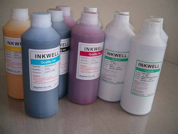 Eco Solvent ink for Roland Mutoh. Mimaki JV., and HP 10000/9000S KOREA products