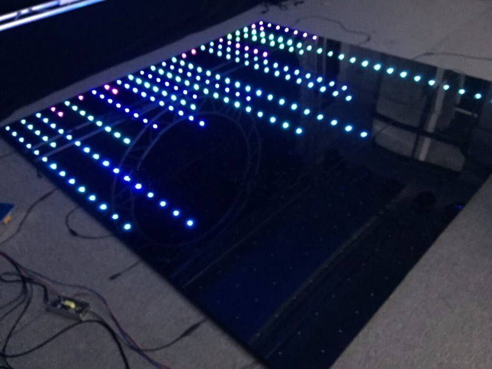 Hot selling led pixel dance floor in China market