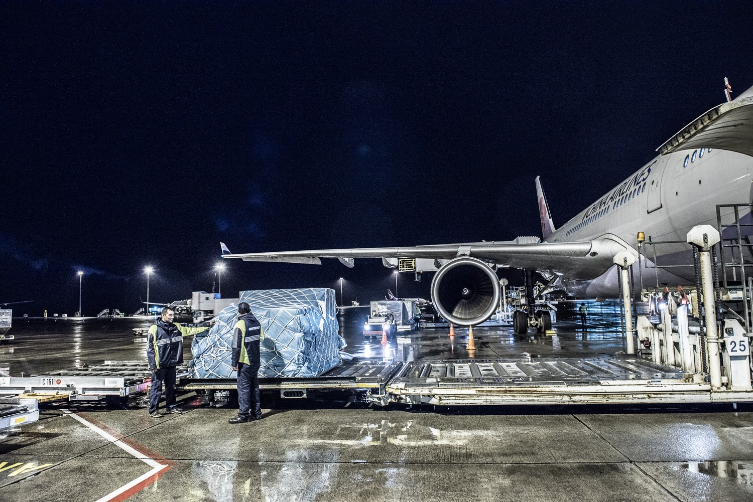 Air Freight from China to Medan