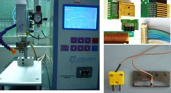 heat press welding machine for PIN and TIN