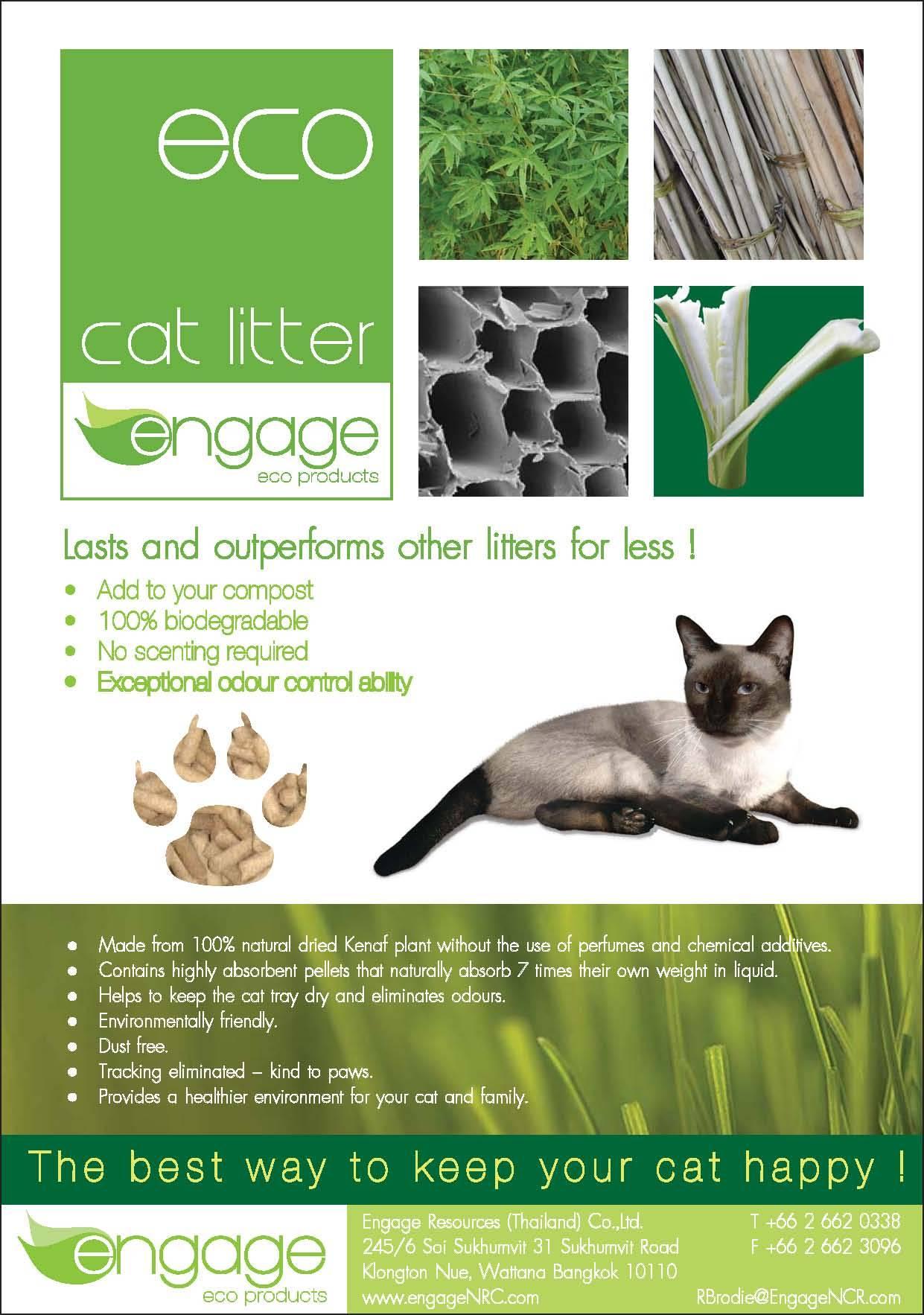 Cat Litter 100% all natural