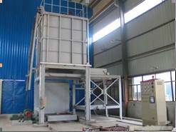 Vertical type aluminium alloy solution quenching furnace